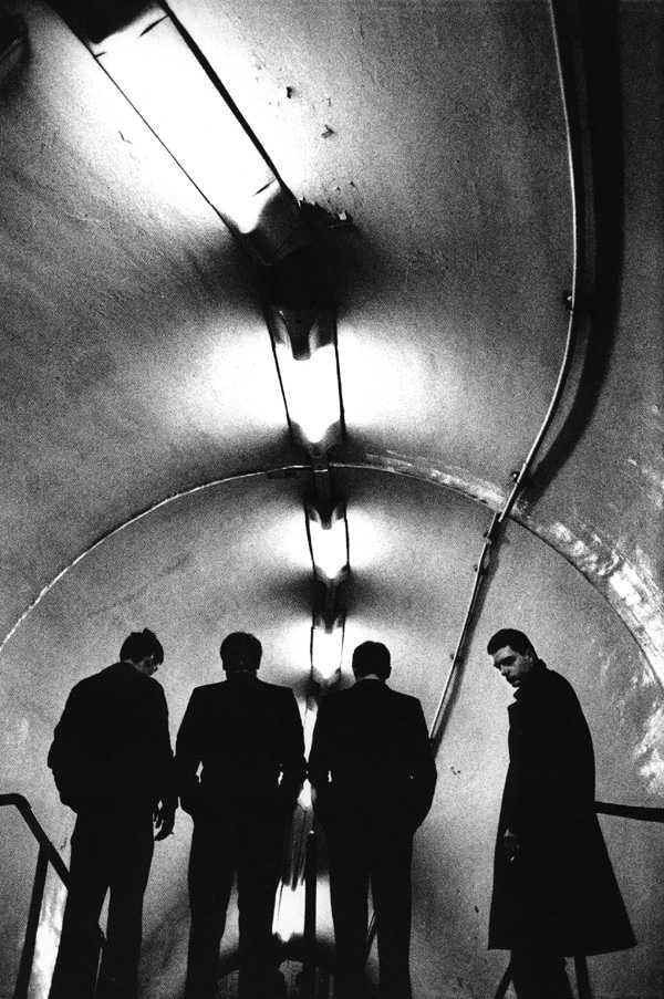 I Joy Division fotografati da Anton Corbijn