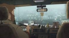 l'arte della felicità scena taxi