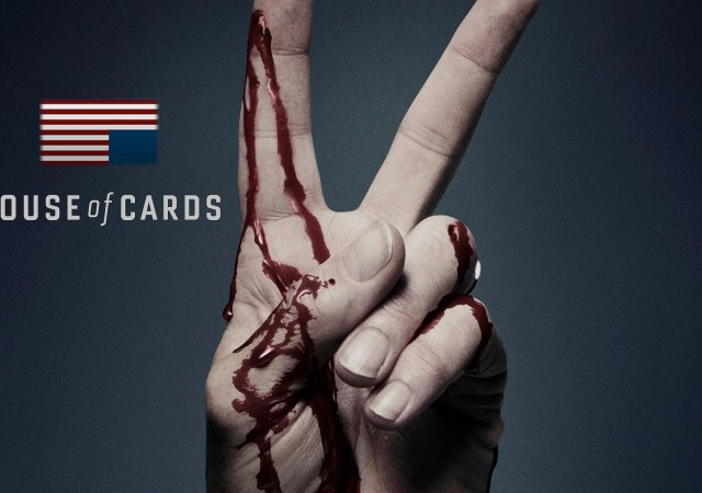 house of cards prima stagione manifesto