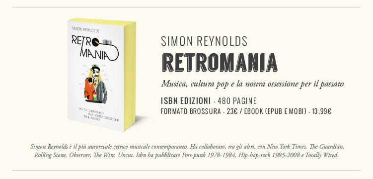 Retromania Book Banner