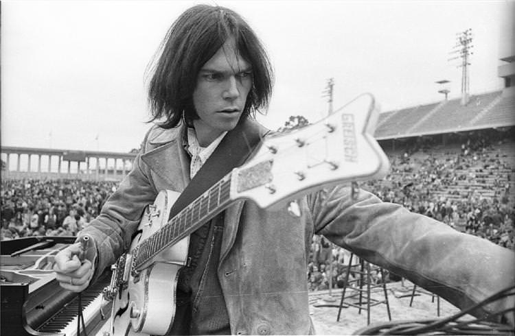 Neil Young a Woodstock