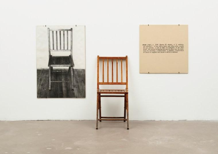 Joseph Kosuth - One And Three Chairs