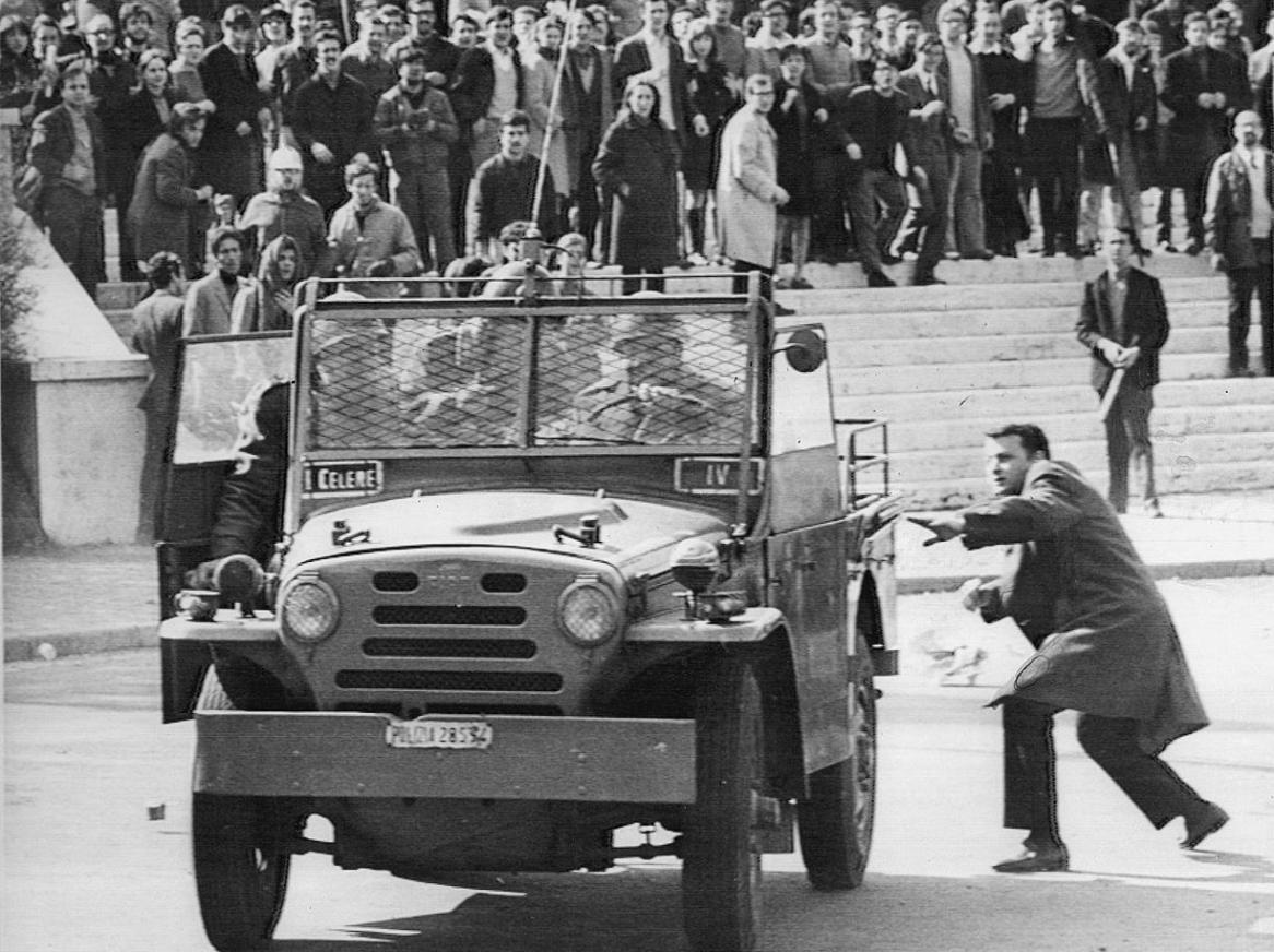 Valle Giulia, Roma - 1968