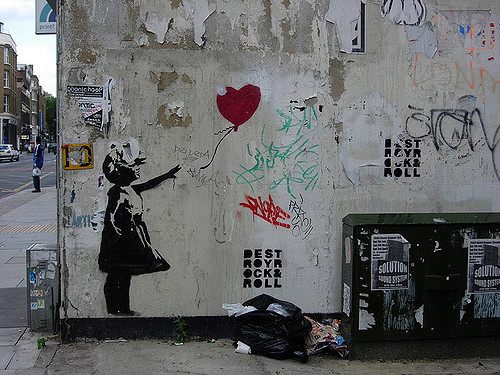 Ballon Girl - Banksy