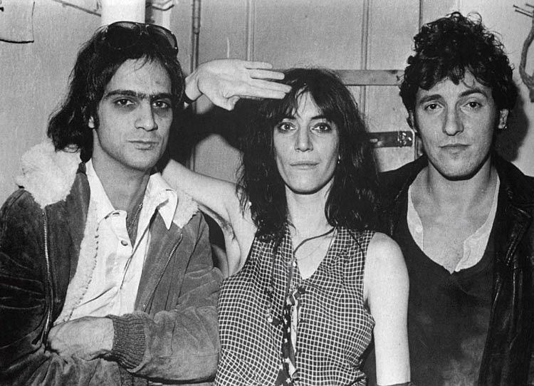 Patti Smith tra Bruce Springsteen e Lenny Kaye