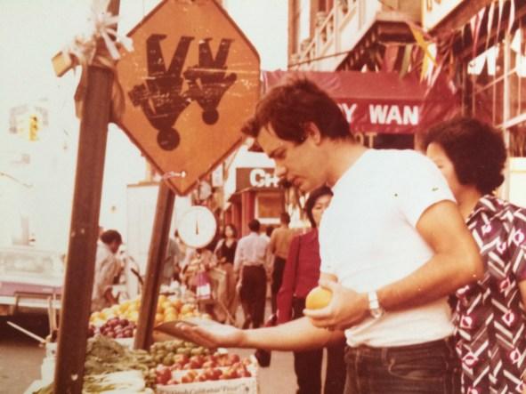Chinatown, in foto il padre di Claudia Durastanti