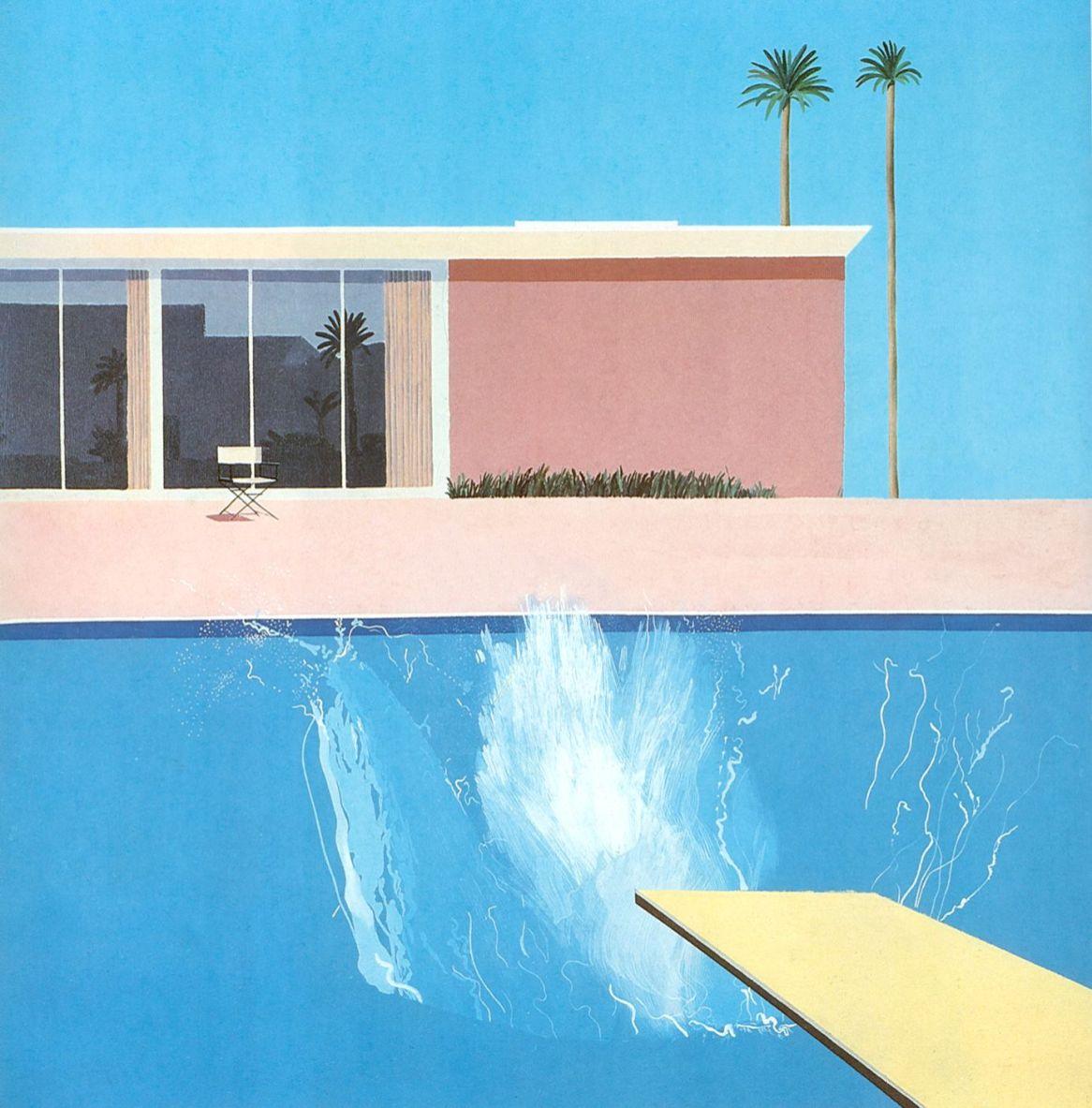 David Hockney - A Bigger Splash