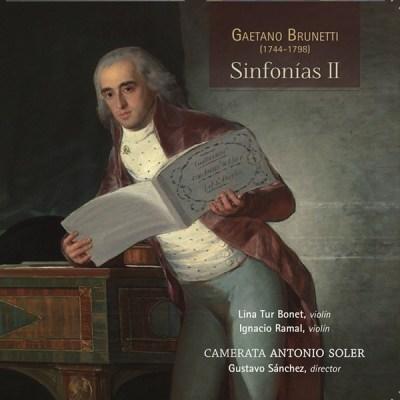 Sinfonías II. Gaetano Brunetti. Lindoro, sello discográfico especializado en Música Antigua y Clásica. Visite nuestra tienda Online.