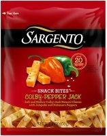 Sargento Snack Bites-Colby Pepper Jack