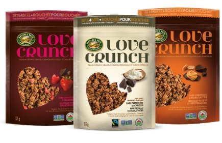 Nature's Path-Love Crunch Granola Feb 2017 Monthly-varieties