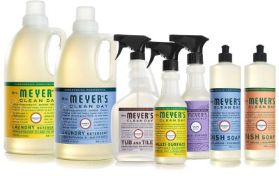 MRS MEYERS CLEAN DAY-Monthly MARCH 2017-products