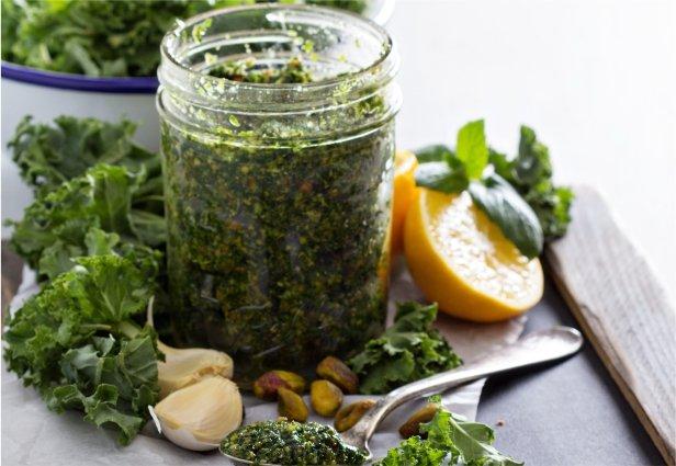 Kale & Pistachio Pesto-link