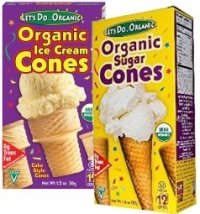 LETS DO ORGANIC-Ice cream cones-Monthly JULY 2017-products