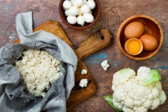 Cauliflower Crust Pizza-ingredients