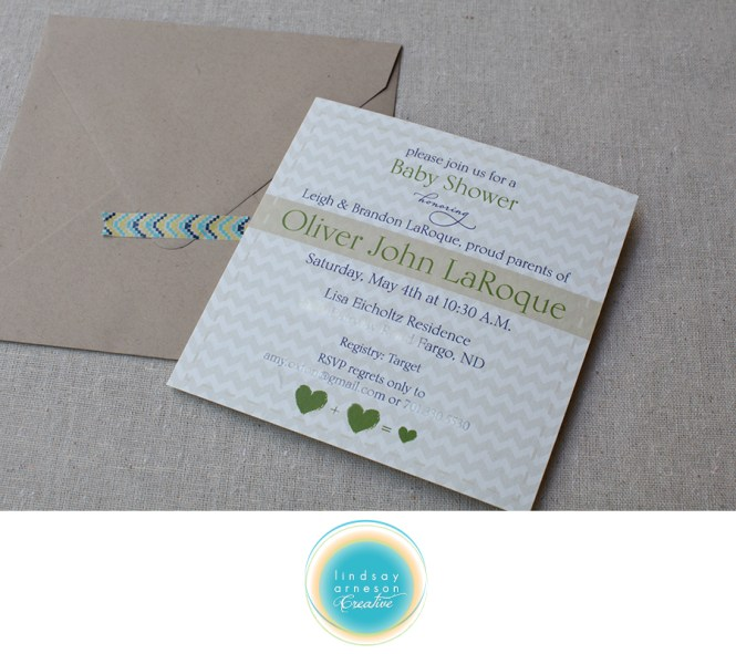 And Baby Makes 3 Shower Invitations Lindsay Arneson