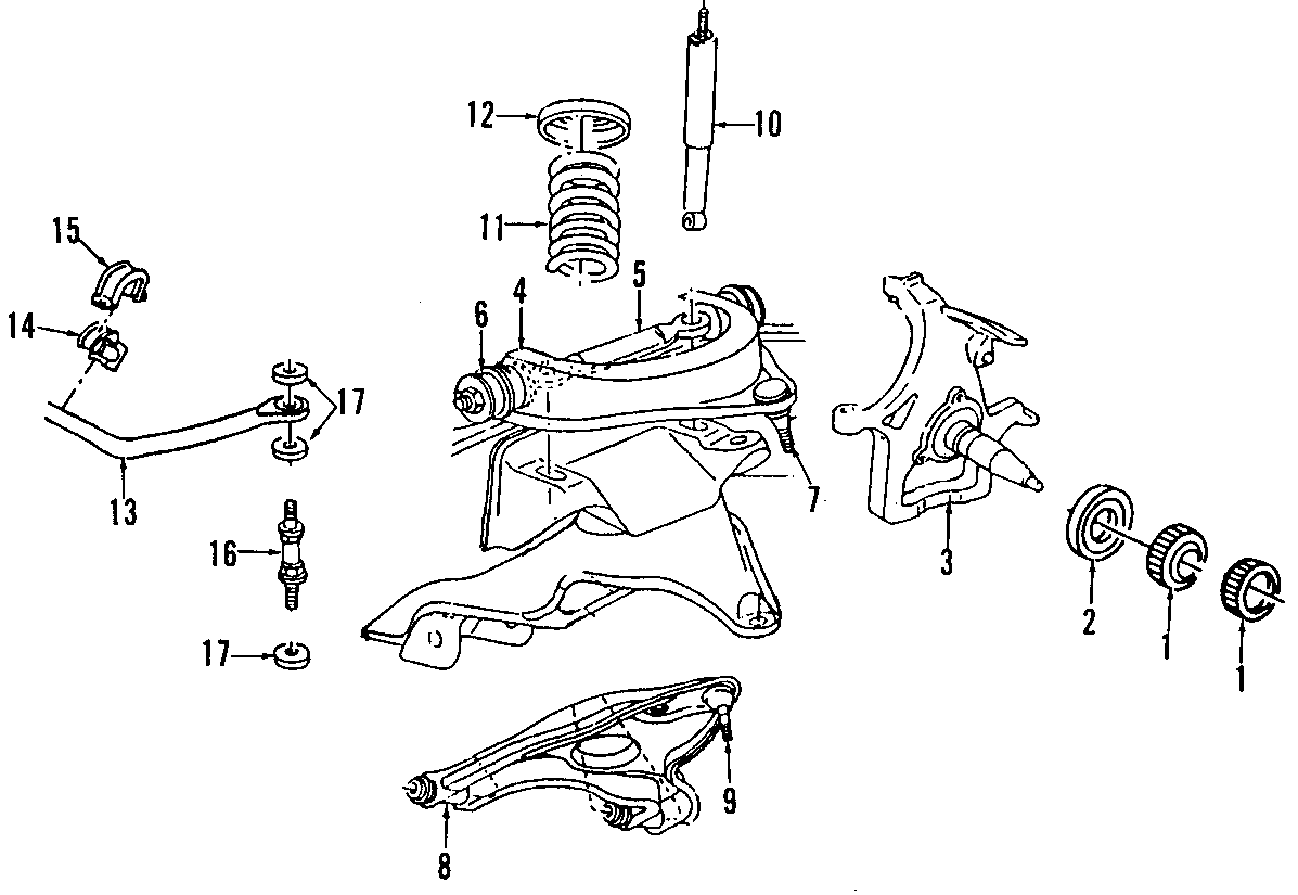 Dodge Ram Lateral Arm Front All Models