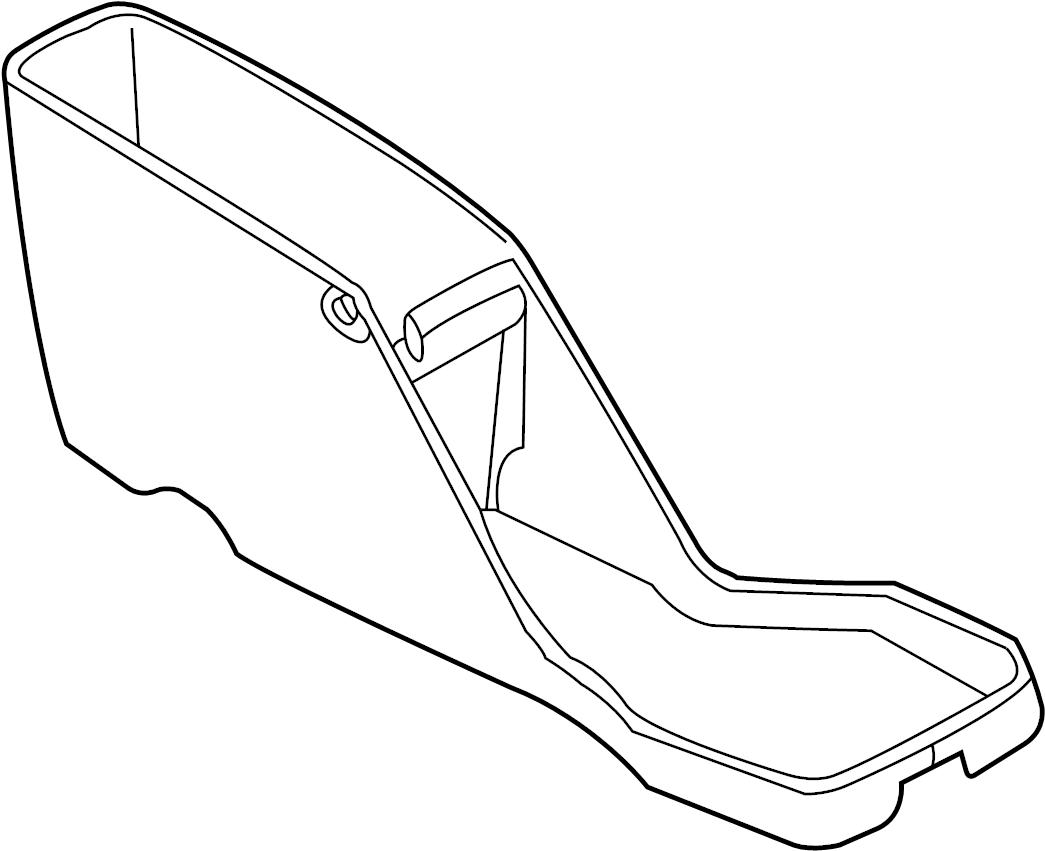 Dodge Durango Console Trim Panel 03 Outer