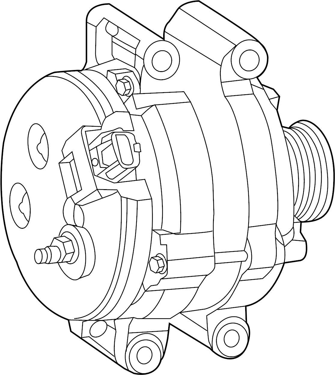 Jeep Grand Cherokee Alternator Engine Alternatr