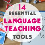 14 Essential Language Teaching Tools – What's in my bag?