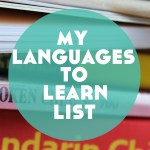 "My ""Languages to Learn"" List (+ a pretty huge announcement)"