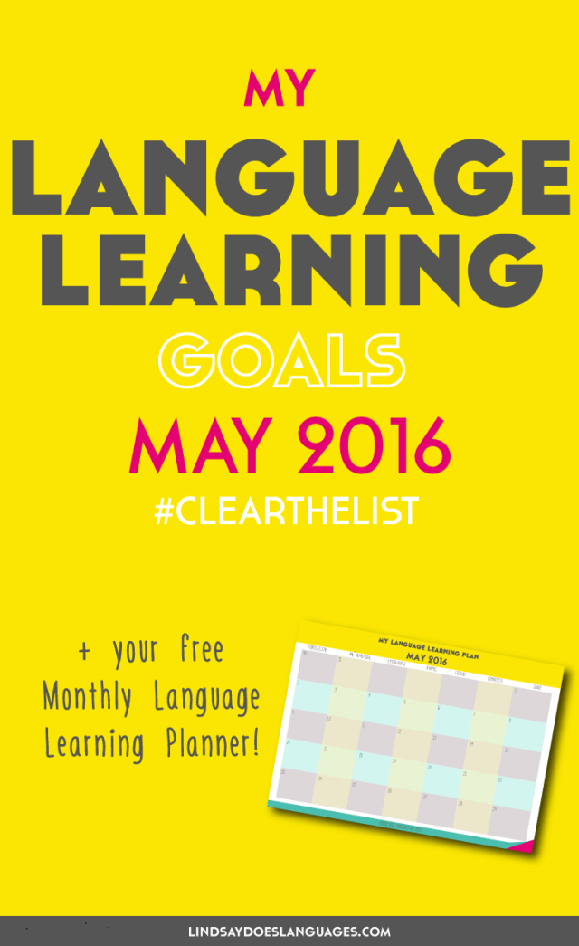 language learning goals clear the list may 2016 your free