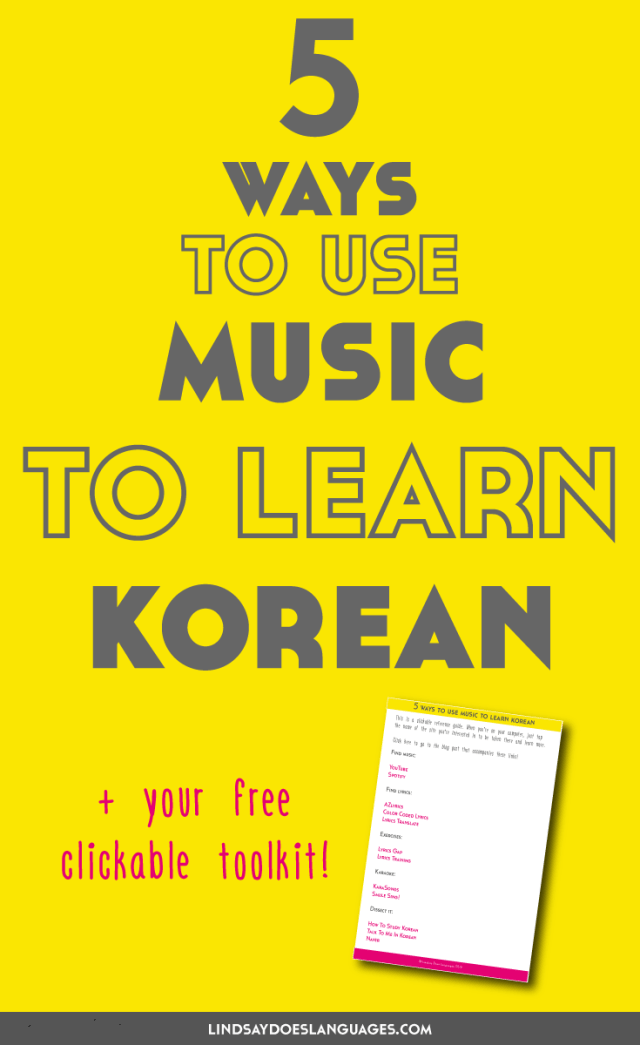 5 Ways to Use Music to Learn Korean - Lindsay Does Languages
