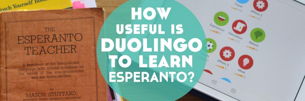 How Useful is Duolingo to Learn Esperanto? - Lindsay Does