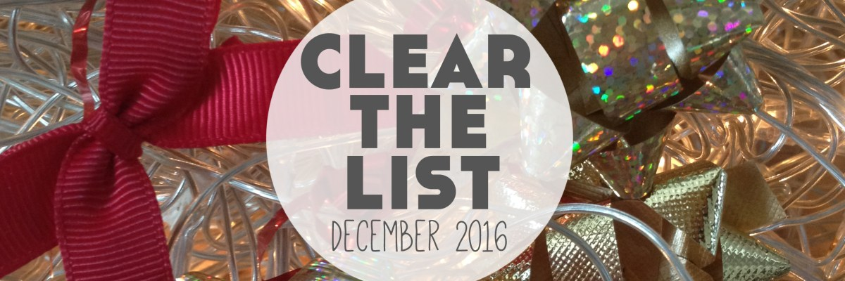 Clear The List is your monthly chance to check in on your language learning and life goals. Click through to read mine for December 2016 and download your free planner! >>