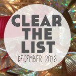 Language Learning Goals: Clear The List – December 2016
