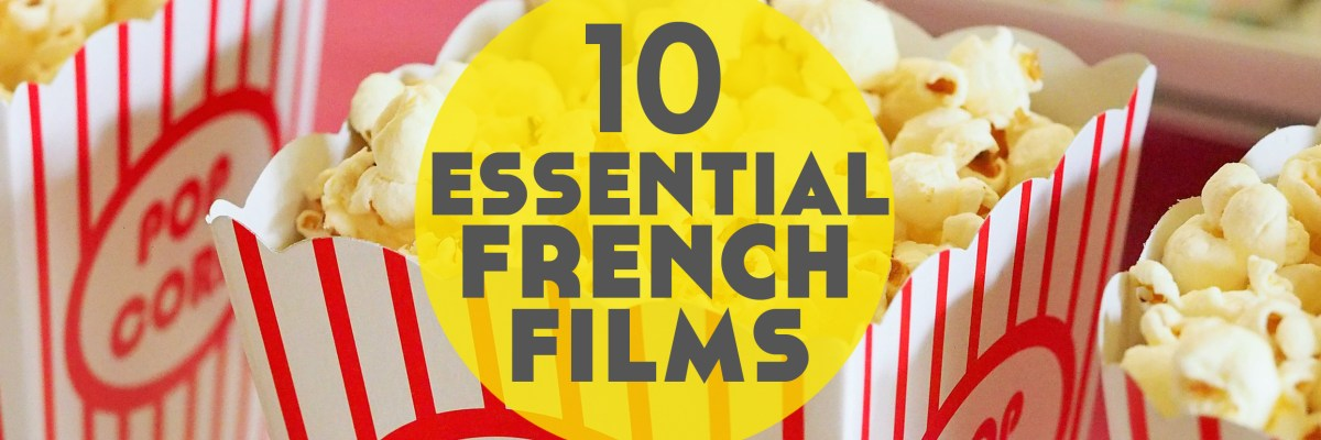 Looking for some essential French films to help you learn the language? These 10 will get you started and give you a French film to fall in love with.