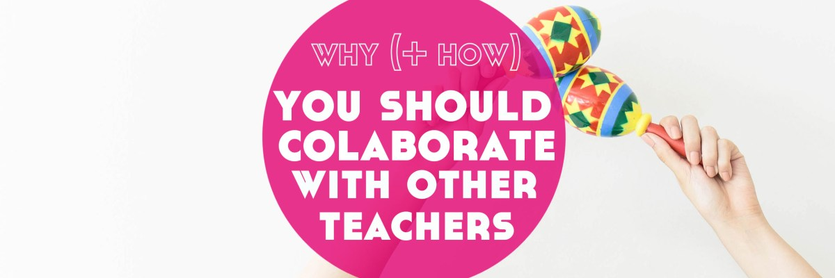 Collaboration with online language teachers is a great way to connect + share your work with more students. Here's why + how to collaborate with other online language teachers.