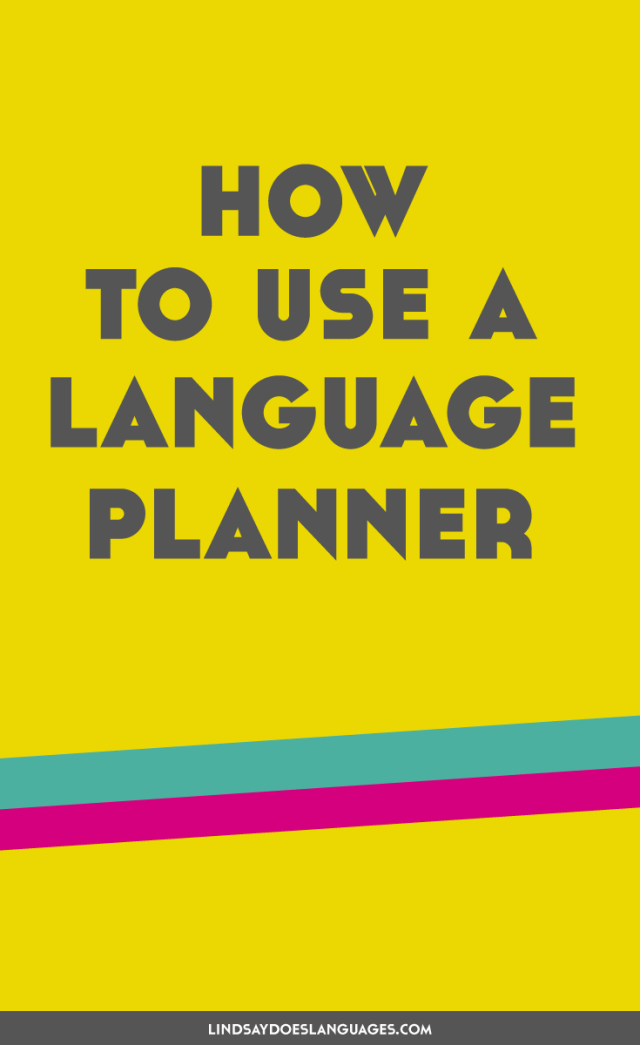 Wondering how to keep motivated with language learning? A language planner could be just what you're looking for! Here's how to use a language planner...