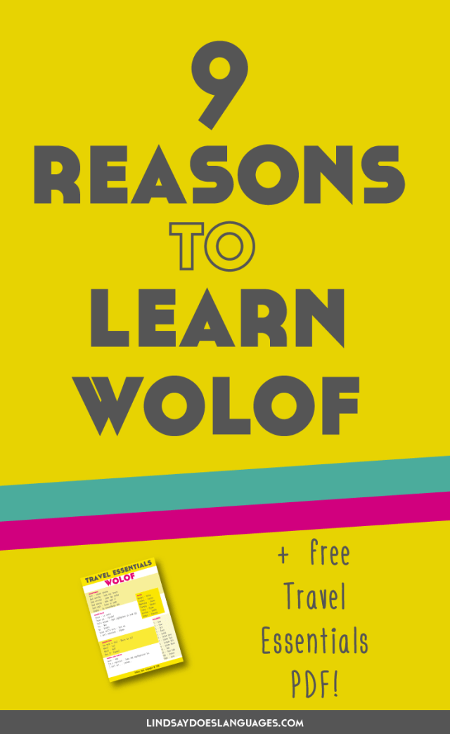 Have you ever wanted to learn an African language but not sure where to begin? What about learning Wolof? It's time for 9 Reasons to Learn Wolof. Click through for your free Travel Phrases PDF!