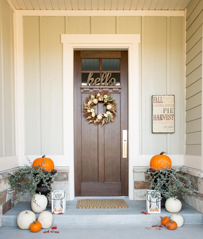 Fall Front Door: Lindsay Hill Interiors