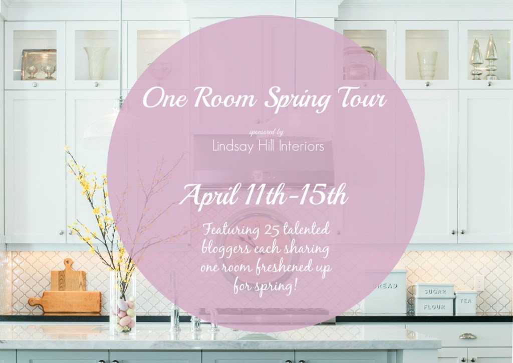 one room spring tour blog hop