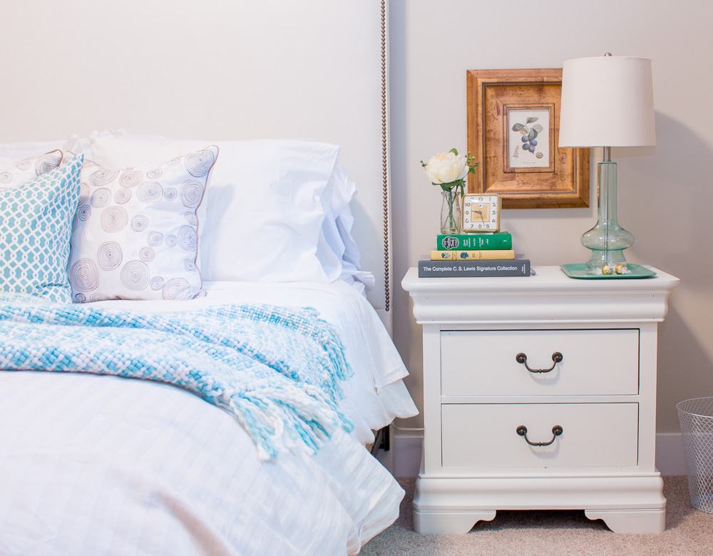 brighten home for summer guest room