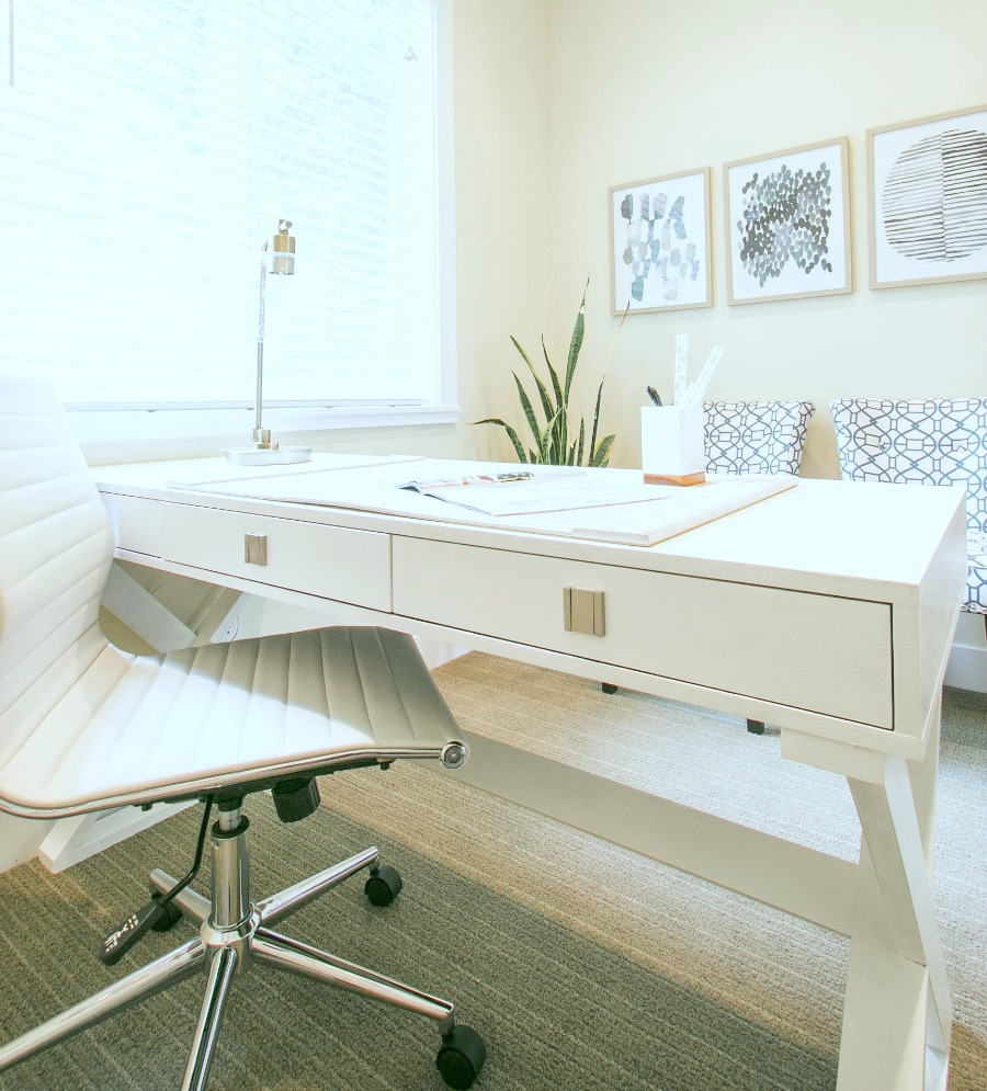 lindsay hill interiors office desk