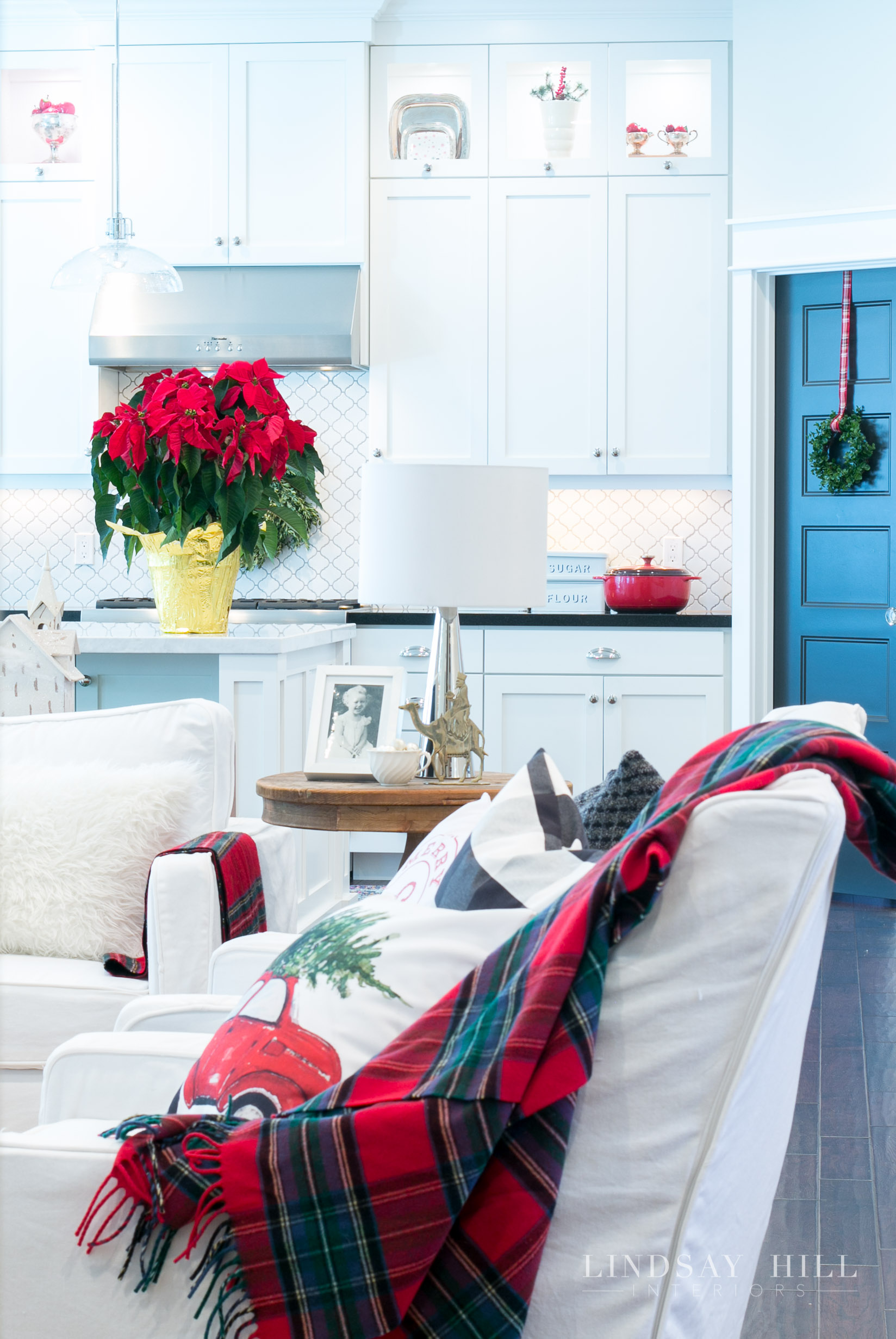 Lindsay Hill Interiors holiday home tour kitchen