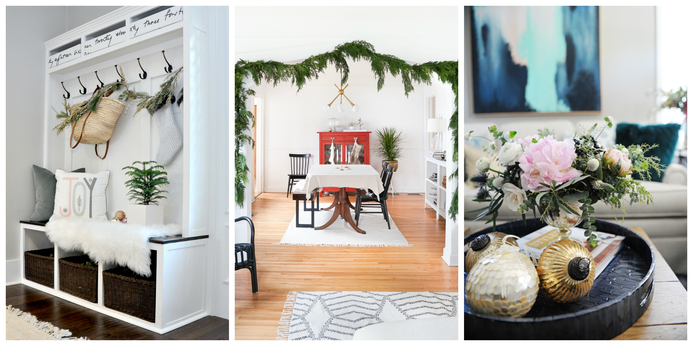 meaningful holiday home tour Dec 3rd