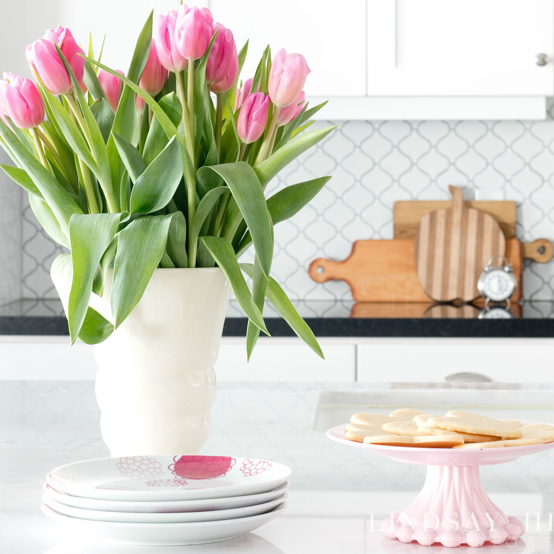 lindsay hill interiors simple valentine's day decor