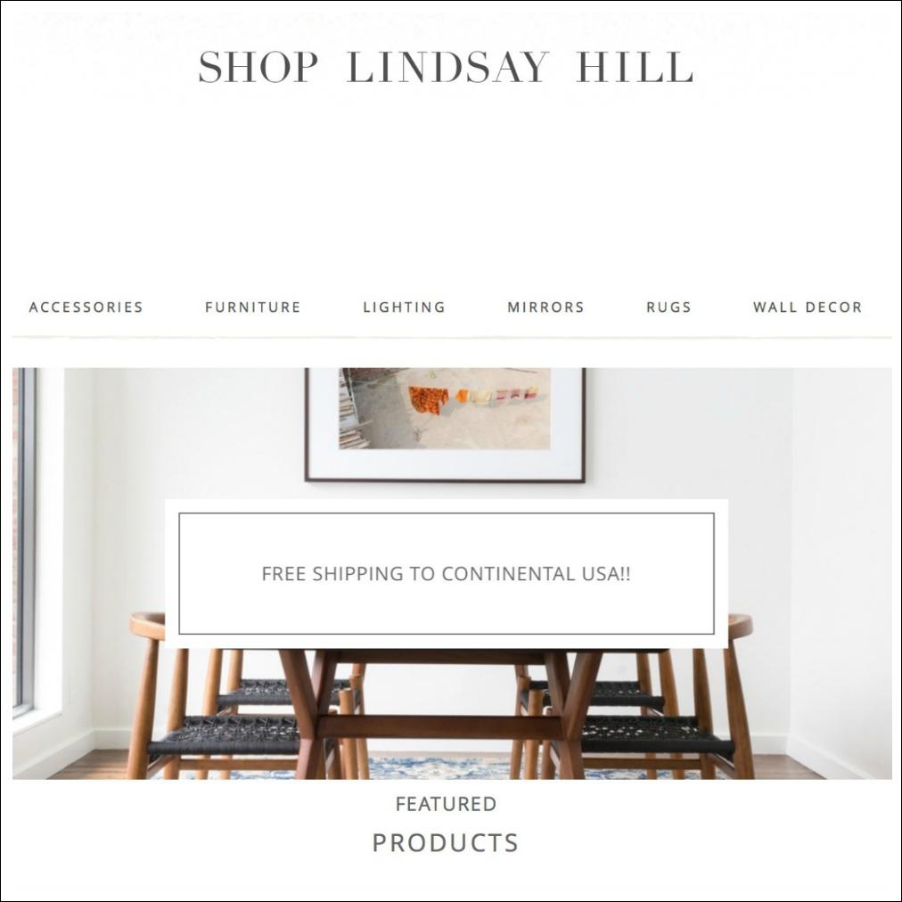shop lindsay hill