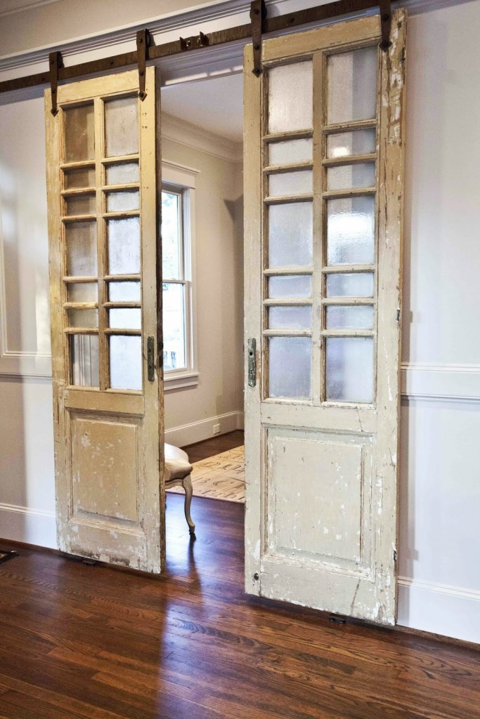 10 ways to use salvaged doors in modern designs