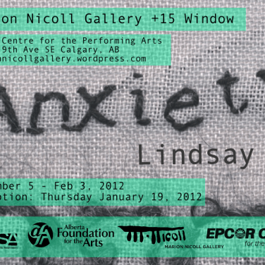 Lindsay Joy, Anxiety postcard