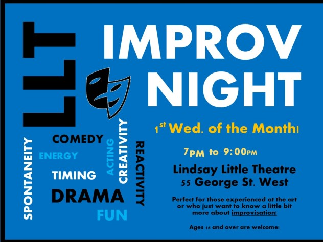 Improv Nights – Lindsay Little Theatre