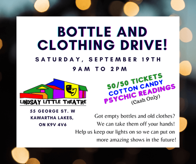 Bottle and Clothing Drive!
