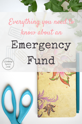 What is an emergency fund? Click to learn why you need to save this fund and how you can decrease your spending and use side jobs to increase your income.