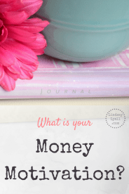 Without a clear motivation, it's difficult to continue to save money and stick to the budget. Read this post to help you find your motivation.
