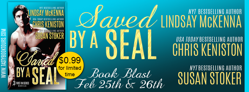 New Release Giveaway ~ Saved by a Seal Boxed Set by @LindsayMcKenna, @Susan_Stoker, & @CKenistonAuthor
