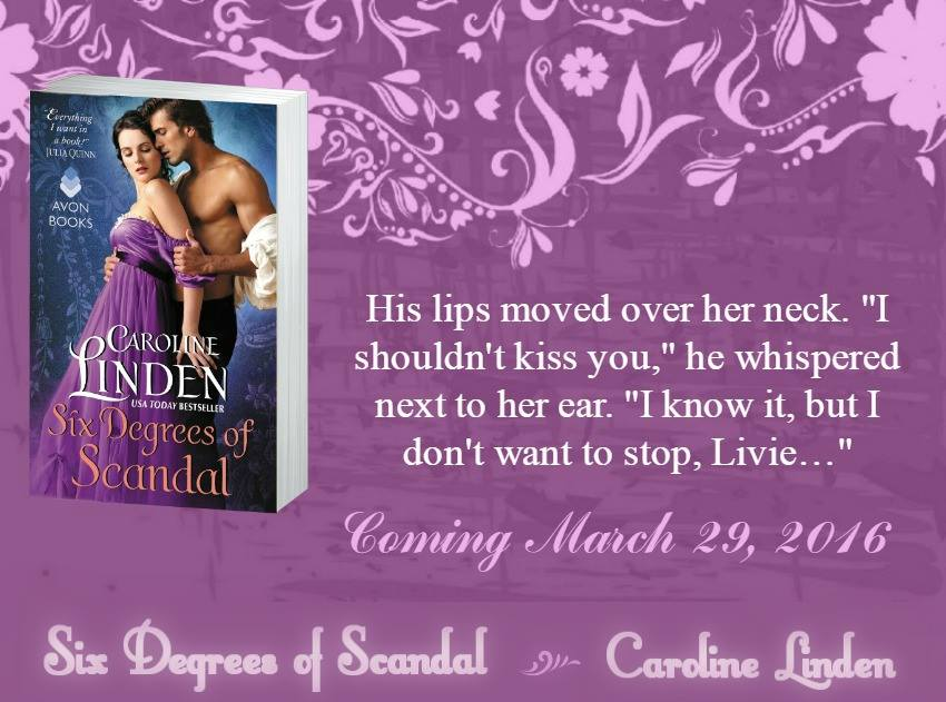 Review ~ Six Degrees of Scandal (Scandalous #4) by @Caro_Linden