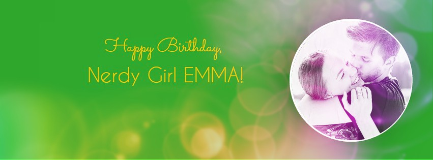 Birthday Giveaway in honor of Nerdy Girl Nation's Emma MacLean!